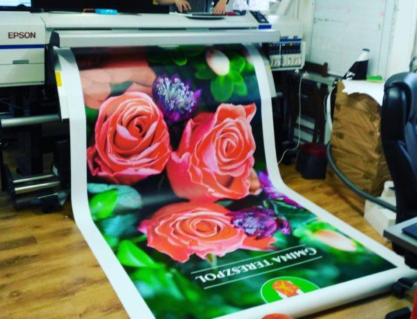 Baner dla Gminy Tereszpol /drukarnia Big Print Biłgoraj