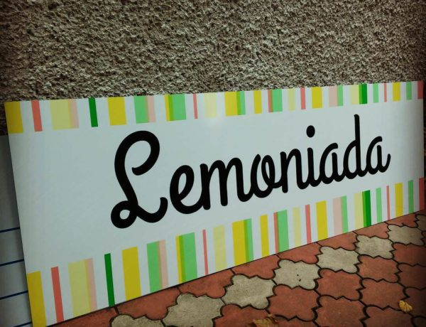 szyld lemoniada